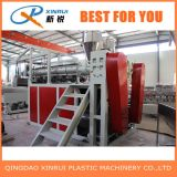 Tapete do PVC que faz a máquina/extrusora plástica da máquina do tapete