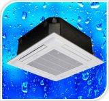天井の冷却カセットはファンコイルの単位を取付けた