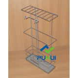 Estante de alambre de metal Gridwall (PHH112A)