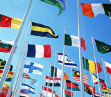 Su ordinazione impermeabilizzare e bandiera nazionale della Grecia della bandiera nazionale di Sunproof