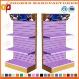 Het Opschortende Rek van de Vertoning van de Opslag van de Plank van de supermarkt met Lichte Doos (Zhs51)