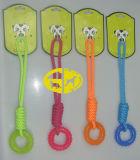 Baumwolseil mit TPR Gummihaustier-Kauen-Spielzeug