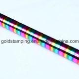 Lámina para gofrar caliente olográfica del arco iris