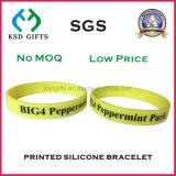 Wristband del silicone riempito colore dell'azzurro di cielo di Debossed per la promozione
