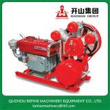 L'entraînement diesel Kaishan 5bar Mini compresseur à air W-1.35/5 de piston