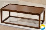 거실 가구 사각 나무로 되는 옆 테이블 탁자