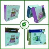 PVC Windows를 가진 4개의 색깔 Corruagted 판지 상자