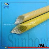 Polyurethan 155c PU-Fiberglas, das für Isolierung der Kategorien-F Sleeving ist