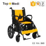 Nuova sedia a rotelle di potere della pastella di disegno di Topmedi Hadicapped