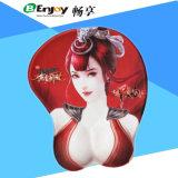 Pele grande de moda da mulher tocante macia mouse pads