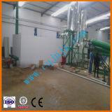Refinaria de petróleo para equipamento de pirólise de óleo para motores de lixo