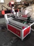 Gravador do CNC do ofício de madeira do cilindro da porta mini