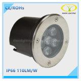 Indicatore luminoso sotterraneo di prezzi di fabbrica IP67 LED con approvazione di Ce/RoHS