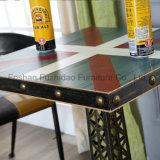 Во французском стиле изысканной деревянной квадратных кофейный столик (футов-601)