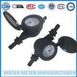 Mètre d'eau en plastique en nylon pour le mètre d'eau multi de gicleur de Dn15mm
