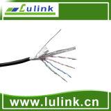 Câble solide de réseau câblé du réseau local 4pairs de ftp de Cat5e