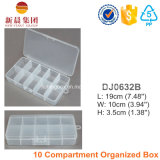 Caixa plástica organizada 10 compartimentos