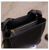 Madame en cuir Handbags d'unité centrale de type de modèle de contraste de couleur d'épaule simple de mode