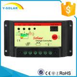 Light+Time制御10IStが付いている10A 12V/24Vの太陽エネルギーのコントローラ