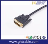 Hochgeschwindigkeitsunterstützungs1080p/2160p Belüftung-Umhüllung DVI zum DVI Kabel
