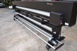 impressora solvente de Eco das cabeças Dx5 dobro de 3.2m para anunciar a impressão