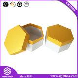 Hexagon Doos van de Gift van het Geval van het Karton van de Organisator van juwelen de Verpakkende