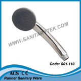 Testa di acquazzone di plastica di Rainfull dell'ABS della mano (S01-267A)