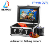 Macchina fotografica subacquea di pesca del cavo lungo con DVR