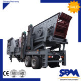 中国の工場昇進の石の移動式顎粉砕機