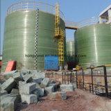 大きいタンクか容器を巻くフィラメント