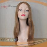 モノラルレースPUの端の人間の毛髪のToupee (PPG-l-0772)
