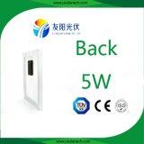 painel 3watt/5watt solar policristalino portátil para o móbil