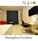 Король Размер Кровать Мебель изготовлений мебели гостиницы для гостиницы (HD621)
