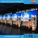 Alta visualizzazione di LED locativa dell'interno P3.91 di definizione 500*500mm di colore completo