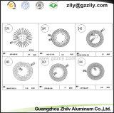 Blocco per grafici di alluminio del girasole del materiale da costruzione/radiatore di alluminio