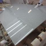 quartz en pierre préfabriqué de gris de 30mm pour le dessus de vanité