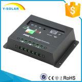 8h 타이머 통제 20I를 가진 12V/24V 20A 태양 책임 또는 비용을 부과 관제사