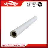China Fabrico 105GSM 432 mm*17polegadas de alta capacidade Ink-Carrying sublimação do rolo de papel para transferência de calor