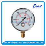 Manómetro de pressão da cápsula - Medidor de pressão seco - Manómetro inferior