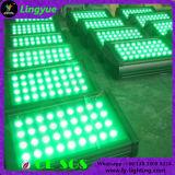 36X3w ciudad al aire libre Color RGB LED bañador de pared