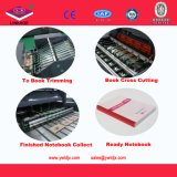 Totalmente automática de cola fría con cinta adhesiva Notebook Línea de Producción de China