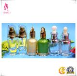 Aceite Esencial de forma única envases de vidrio con varios colores