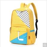 2017 saco de escola quente dos desenhos animados 600d da venda para o estudante com logotipo personalizado