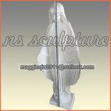 статуя Mary девственницы 1.2m в мраморе высекая Ms1701