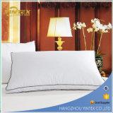 Almohada de algodón blanco Rectángulo cama interior Almohada de cama de hotel de casa