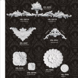 Esquina talladas de poliuretano rosetones y apliques Onlays Hn-S046