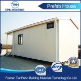 Casa prefabricada tamaño pequeño del marco de acero para el kit de la casa