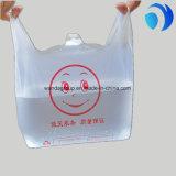 Мешки тельняшки HDPE ясные пластичные с изготовленный на заказ печатание