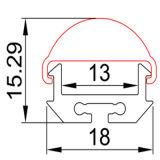 LED 지구 빛을%s 4224high 질 LED 밀어남 알루미늄 단면도