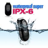 Lk106 Ipx6 Black Waterproof Built-in Lithium Ion 967 Mini Real-Time GPS Tracker Sos Alarme para Pet / Animal / Kids - Plug Us
